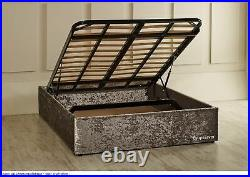 Austin Gas Lift Ottoman Storage Bed Base Interior Decors Quality Beds Made in UK