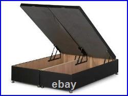 Belgravia Chesterfield Fabric Headboard End Opening Divan Ottoman Storage Bed