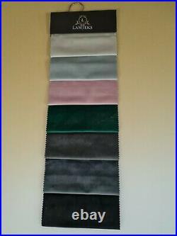 Bespoke Duke Swan Wingback Bed Upholstered Handmade Plush Crush Velvet Chenille
