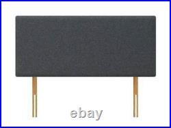 Brand New Open Blue Plush Velvet Memory Divan Bed 3ft 4ft 4ft 6 Double 5ft 6ft