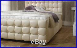 CUBEX Chenille / Leather / Velvet Velvet Upholstered storage Bed frame, UK