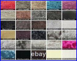 Divan Base Choice of Colours & Fabrics STORAGE OPTIONS ALL SIZES AVAILABLE
