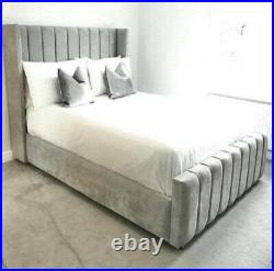 Florence wing gas lift storage bed frame