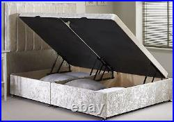 Free Delivery Affordable Divan Ottoman Side Lift Storage Bed High Quality