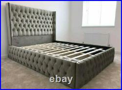 Grandiose Ferro bed with/without ottoman gaslift storage & mattress option