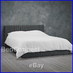 Grey Frankfurt Ottoman Bed Storage Bed In 4FT 4FT6 5FT 6FT