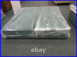 Hypnos hard top Base no storage 6ft super king 180x200 green velvet RRP £700