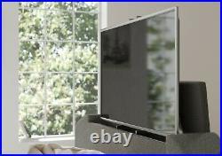 Luxury TV Bed Foley Grey Fabric Ottoman/Storage King Size/5ft Copenhagen