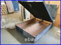 Maxus Storage Ottoman 4FT6 End Lift Divan Base + Matching Headboard 135 x 190cm