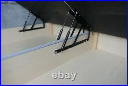 Modern Ottoman Bed Storage Upholstered Gas Lift Base Frame with FREE Headboard