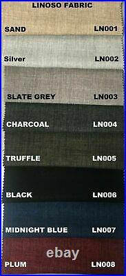 New Fabric Modern Drawers Storage Divan Bed Frame Base with Free Headboard UK