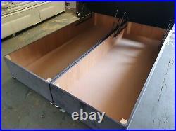 Reat Assured Latex 2000 Mattress + Maxus Storage Ottoman 4FT6 Lift Divan Base +