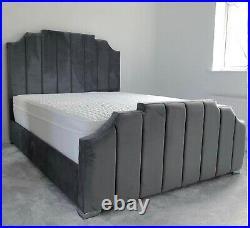 Royal Bed Slats Gaslift Ottoman Storage Mattress Double King Bespoke Bumper Sale