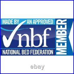 Storage Bed, Newton Velvet 4 Drawer Bed in 2 Colour, 2 Size & 4 Mattress Options