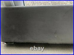 Storage Bed Platinum Grey Padded Headboard (Super King Size)