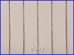Velvet EU Super King Size Bed Frame Tufted 6ft Storage Bench Pink Noyers