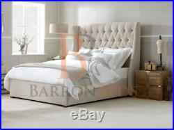 Winged divan bed with storage option drawers divan beds